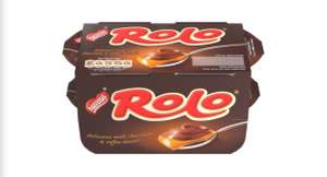 Rolo Milk Chocolate & Toffee Dessert 4 x 65g £1 or 5 for £4 @ Iceland