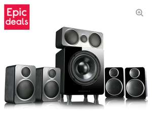 WHARFEDALE DX-2HCP 5.1 Speaker System - Black - £149.98 Delivered With Code @ Currys PC World