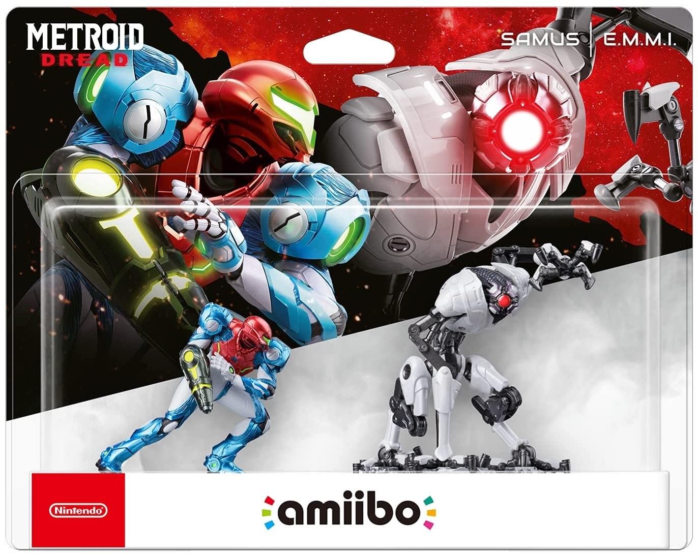 Metroid Dread Samus/E.M.M.I. Amiibo 2-Pack £25.99 (pre-order) at Amazon