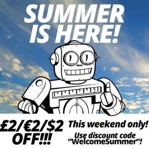 £2/€2/$2 off this weekend at Qwertee