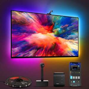 Govee Immersion WiFi TV LED Backlights with Camera - £61.19 Delivered Using Code Sold by Govee UK and Fulfilled by Amazon
