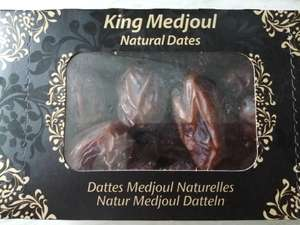 King Medjoul dates 500g £3.19 at Aldi, in-store at Bidston (Wirral)