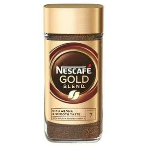 Nescafe Gold Blend Instant Coffee 200g £4 at Sainsbury's