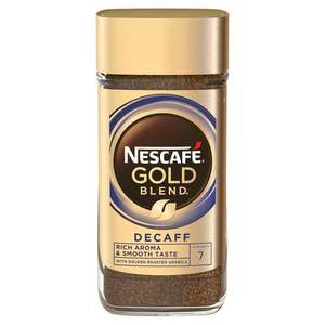 Nescafe Gold Blend Decaff Instant Coffee 200g £4 at Sainsbury's