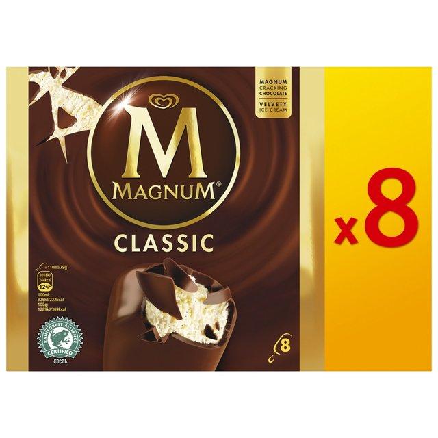 Magnum Ice Creams 8 Pack £3.45 @ The Deal Depot (Asda)