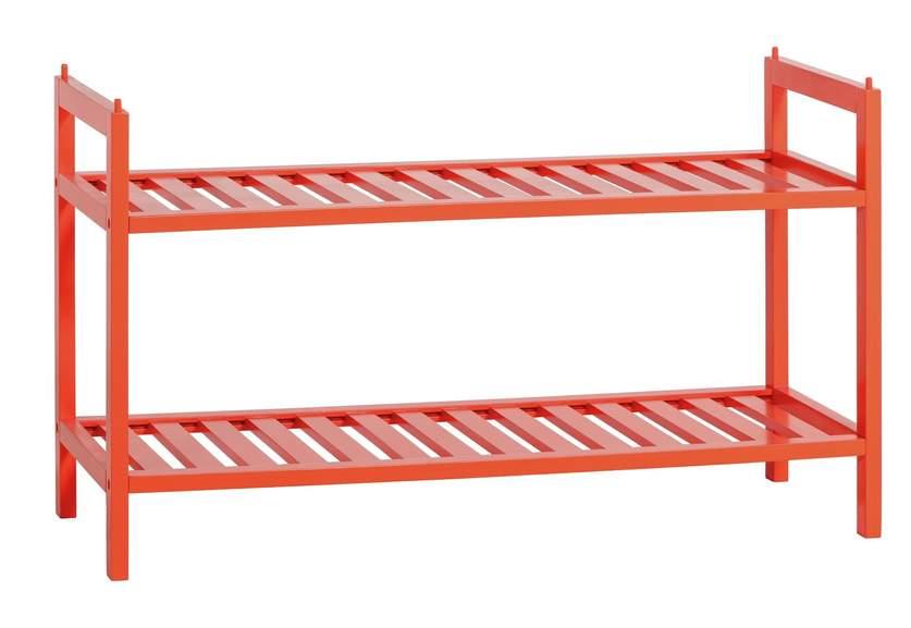 Habitat Kitt Bamboo 2 Shelf Shoe Rack in Orange for £22.50 click & collect (clearance) @ Argos