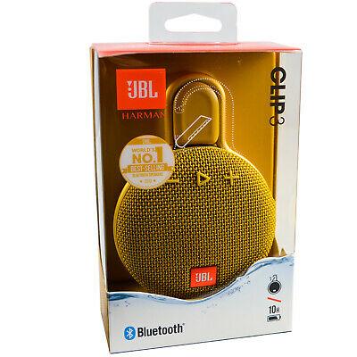 JBL Clip 3 Wireless Portable Bluetooth Waterproof Speaker - £28.99 @ genuine_for_you / ebay