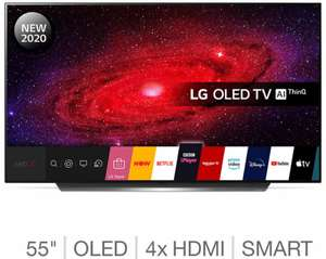 LG OLED55CX6LA 55 Inch OLED 4K Ultra HD Smart TV with a 5 year warranty £1079.98 Delivered (Members Only) @ Costco