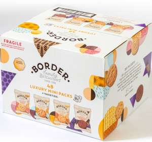 Border Biscuits Luxury Mini Packs - Pack of 48 - £5.69 instore(Membership Required) @ Costco