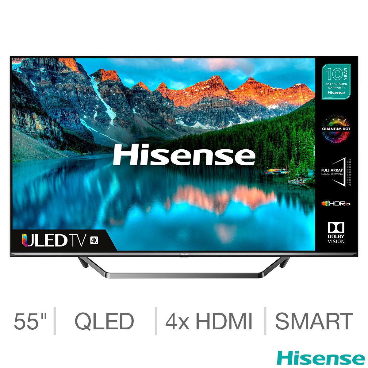 Hisense 50U7QFTUK 50 Inch QLED 4K Ultra HD Smart TV with Alexa - £395.98 (instore) Membership Required @ Costco