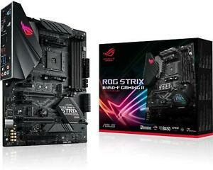 ASUS ROG STRIX B450-F GAMING II Motherboard AMD Socket AM4 AMD B450 Chipset £75.99 using code @ Box / Ebay