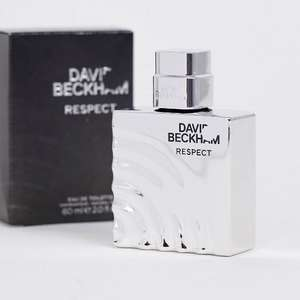David Beckham Respect Eau de Toilette 60ml - £14 with code (Free Delivery for Premium Members / £4 non-members) @ Asos