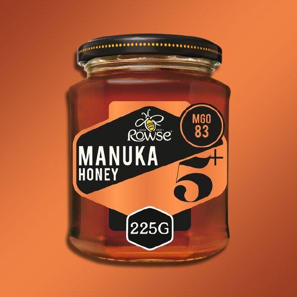 4 x Rowse MGO 83 Manuka Honey 5+ 225g (Best Before End July 2021) £16 Delivered @ Yankee Bundles