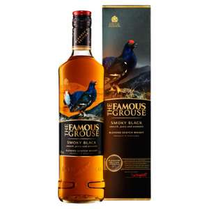 Famous Grouse Smoky Black Blended Scotch Whisky 70cl (40% vol) £14 at Morrisons