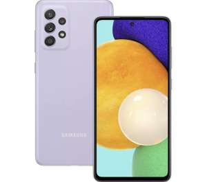 SAMSUNG Galaxy A52 5G - 128 GB, Awesome Violet (Damaged Box) - £313.49 (with code) @ Currys Clearance