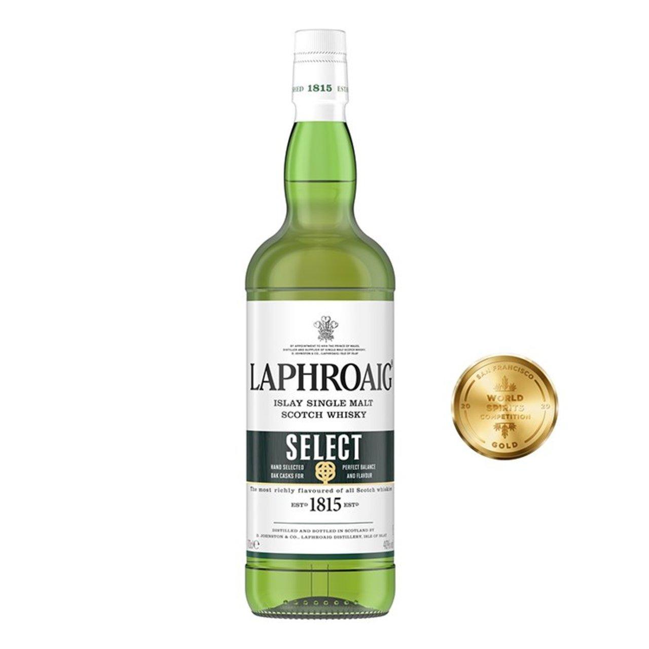 Laphroaig Islay Select Single Malt Whisky 70cl (40%) - £22 at Morrisons