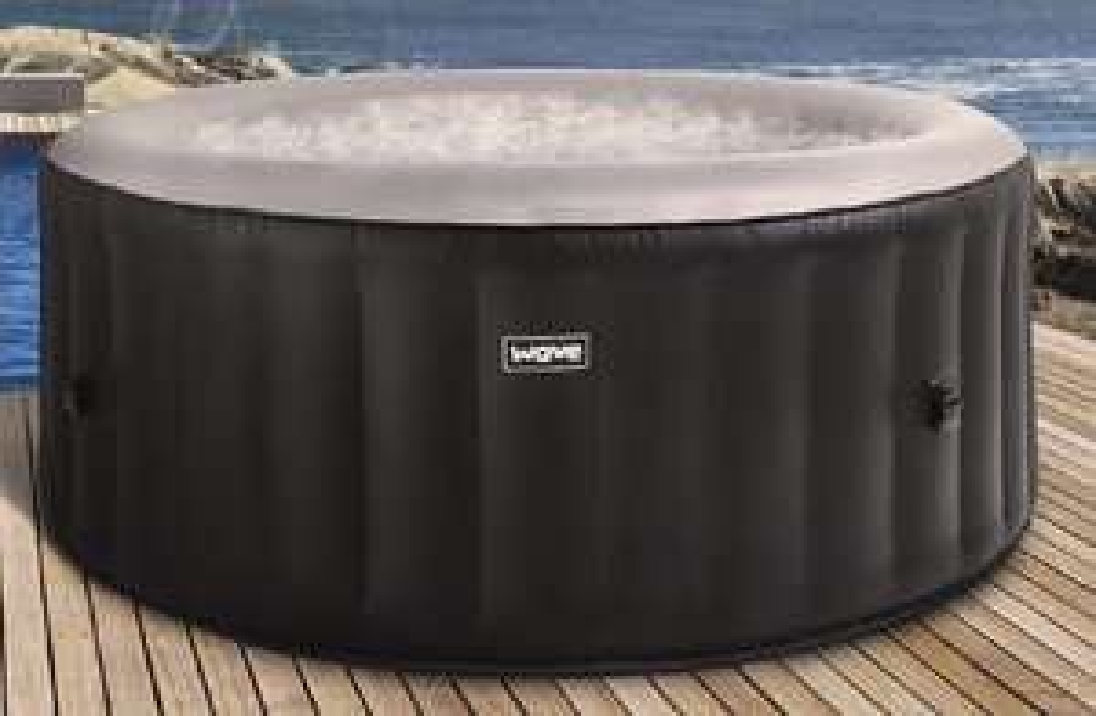 Wave Spa Atlantic Black Inflatable Hot Tub (2-4 Person) - £249.99 Delivered @ Home Bargains