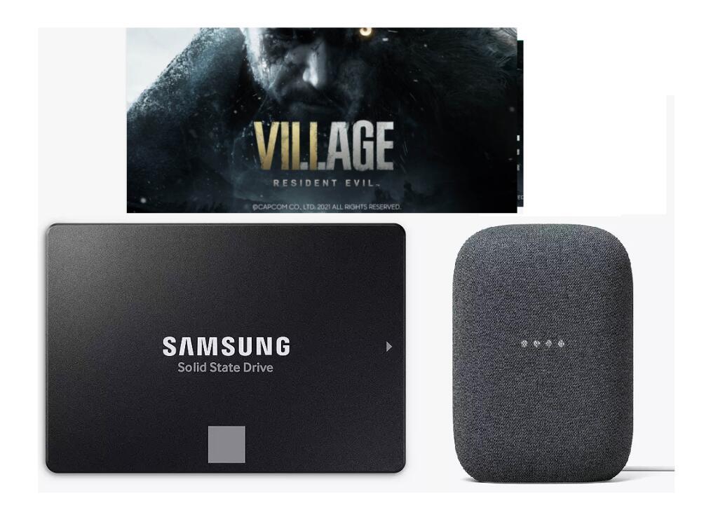 "1TB Samsung 870 EVO 2.5"" SSD+Nest Audio Hands-Free Smart Speaker+Free Resident Village (PC) £109.99 With Code (Account Specific) @ JohnLewis"