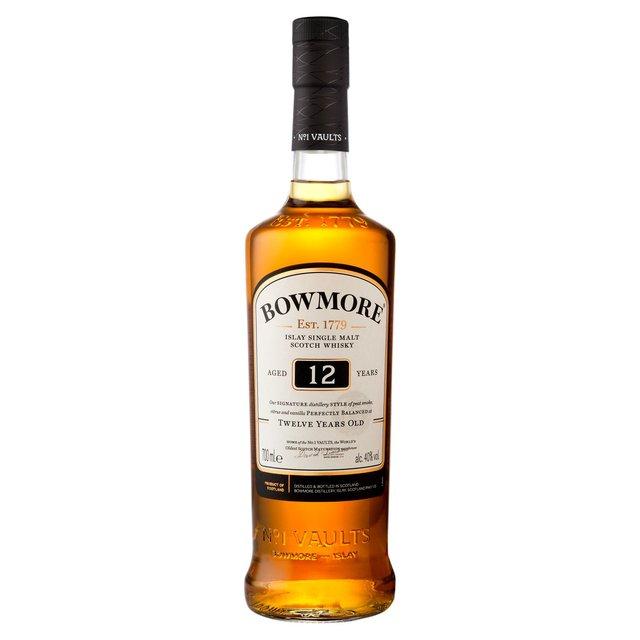 Bowmore 12 Year-Old Single Malt Scotch Whisky 70cl (40% vol) - £26 at Asda
