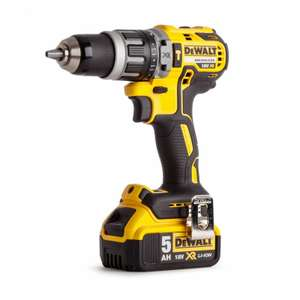 DeWalt DCD796P1 XR Brushless Combi Drill 18v 1 x 5.0Ah Li-Ion, Charger and Case £123.49 with code @ powertoolmate ebay