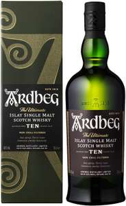 Ardbeg 10 Year-Old Scotch Whisky 70cl (46% vol) - £37 (Clubcard price) at Tesco