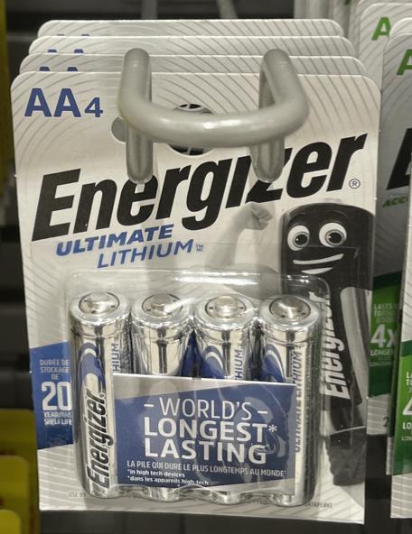 Energiser Ultimate Lithium AA and AAA batteries half price - £3 Instore @ Waitrose & Partners (London)
