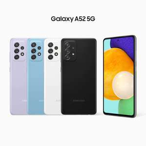 Galaxy A52 5G White - £349 (possible £299 for any broken phone or £154 with broken S9 trade in) +£50 Cashback @ Samsung