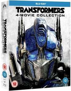 [Blu-Ray] Transformers - 4 Movie Collection (1-4) - £3.80 delivered @ Rarewaves