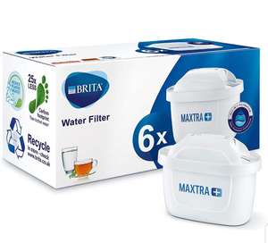 BRITA MAXTRA + Replacement Water Filter Cartridges 6 Pack - £20 @ Amazon