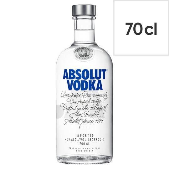 Absolut 70cl Swedish Vodka / Passion Fruit / Raspberri / Vanilia / Watermelon - £16 (Clubcard) @ Tesco