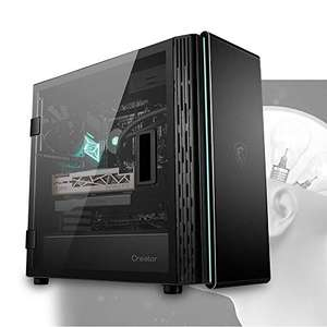 MSI CREATOR 400M 'C400M' Mid Tower Silent Computer Case 'Black, 3x 140 mm PWM Fans, USB Type-C - £81.02 delivered @ Amazon