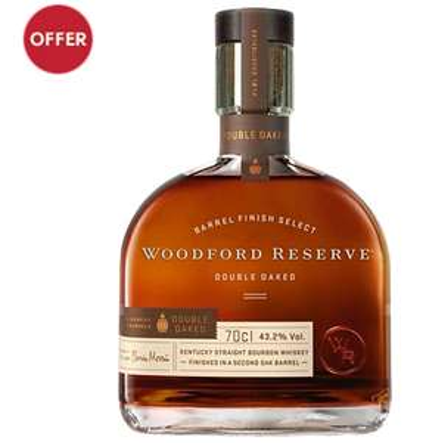 Woodford Reserve Double Oaked Bourbon Whiskey £42 @ Waitrose Cellar
