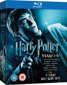 Harry Potter 1-6 Blu-ray (used) £6.74 delivered with code @ World of Books