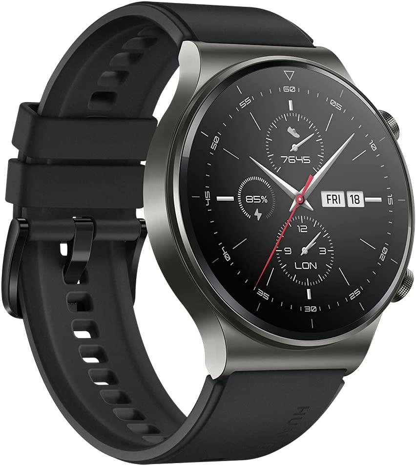 Huawei Watch GT 2 Pro Smartwatch 1.39'' AMOLED HD Touchscreen 2-Week Battery GPS HR Monitor 46mm Black £143.08 (UK Mainland) @ Amazon Spain