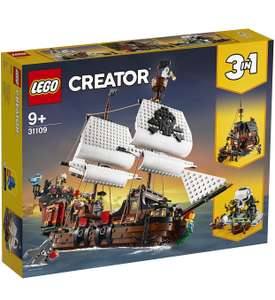 LEGO Creator 31109 - 3 in 1 Pirate Ship and Skull Island Set £65 + Free click & collect @ Argos