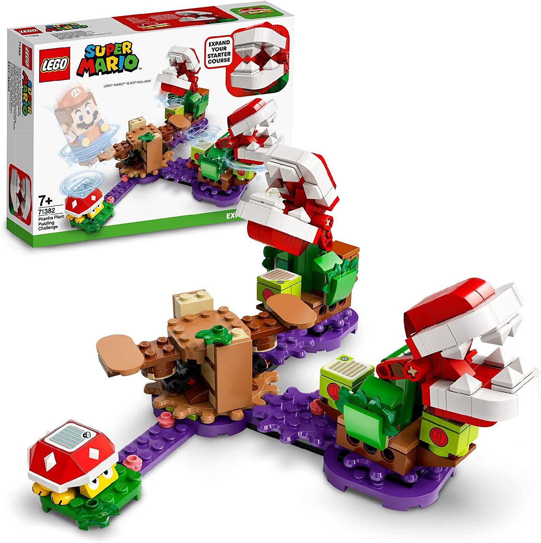 LEGO Super Mario 71382 Piranha Plant Challenge Expansion Set £15 (free click & collect / £3.95 delivery) @ Argos