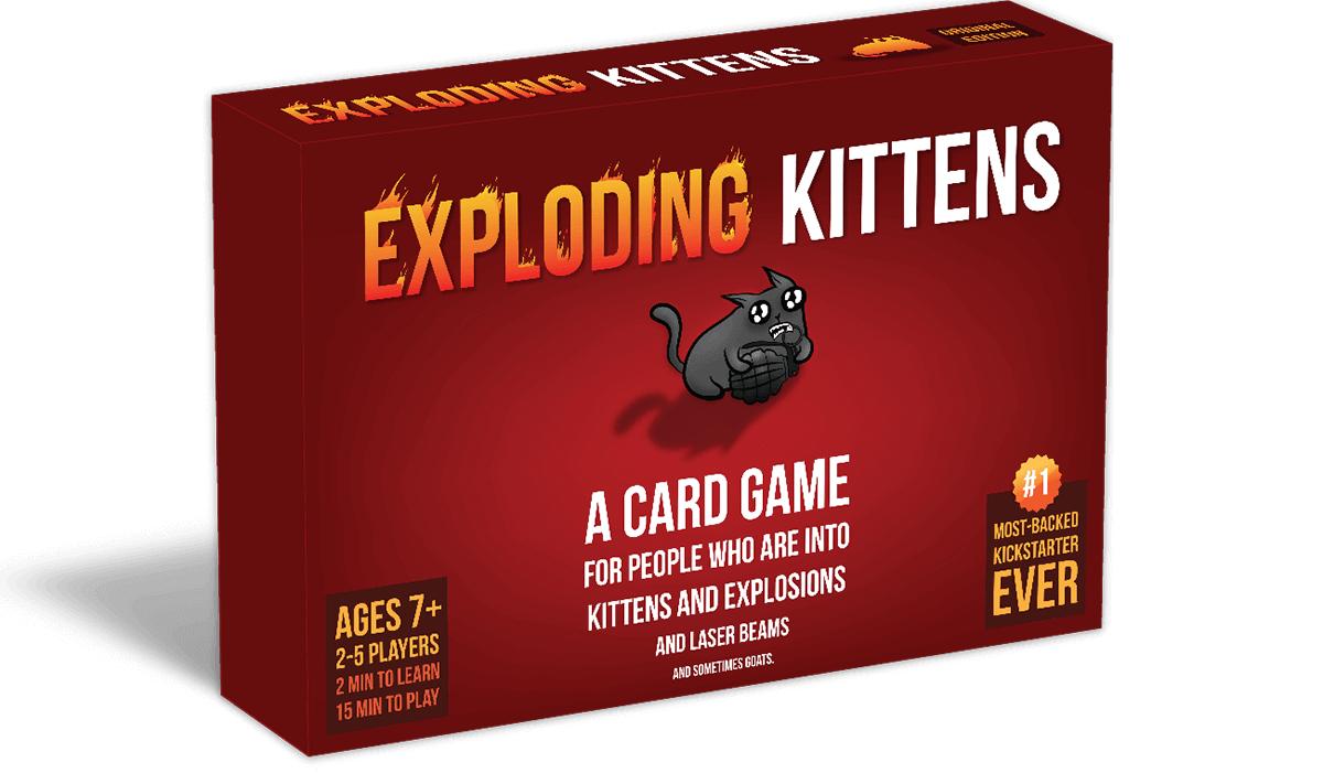 Exploding Kittens card game board game - £4.50 @ Barnado's (Braintree)