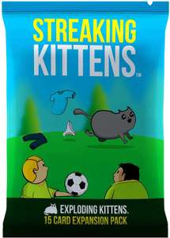 Streaking Kittens expansion for Exploding Kittens card game board game £2.50 / Exploding Kittens £4.50 in Bernardo's in Braintree