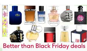 Better than Black Friday deals across selected fragrances + Free next day delivery use Code @ Boots