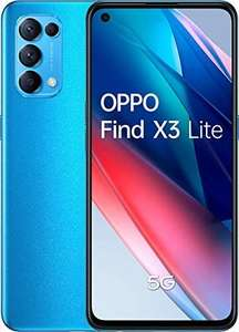 OPPO Find X3 Lite 5G AMOLED 90 Hz, 8GB + 128GB, Snapdragon 765G, 4300 mAh Fast Charge 65w Smartphone - £295.91 (UK Mainland) @ Amazon Spain