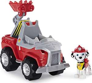 PAW Patrol Dino Rescue Marshall's Deluxe Rev Up Vehicle with Mystery Dinosaur Figure - £8.99 (+£4.49 Non Prime) @ Amazon
