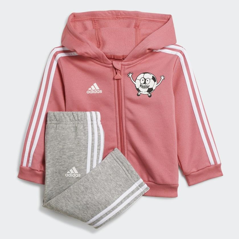 adidas Lil 3-Stripes Kids Fleece Set £19.60 Delivered using code @ adidas