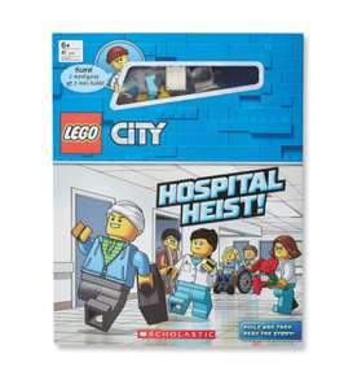 LEGO City Hospital Book £1.99 / Ninjago, City Adventure & Star Wars £5.99 each at Aldi's