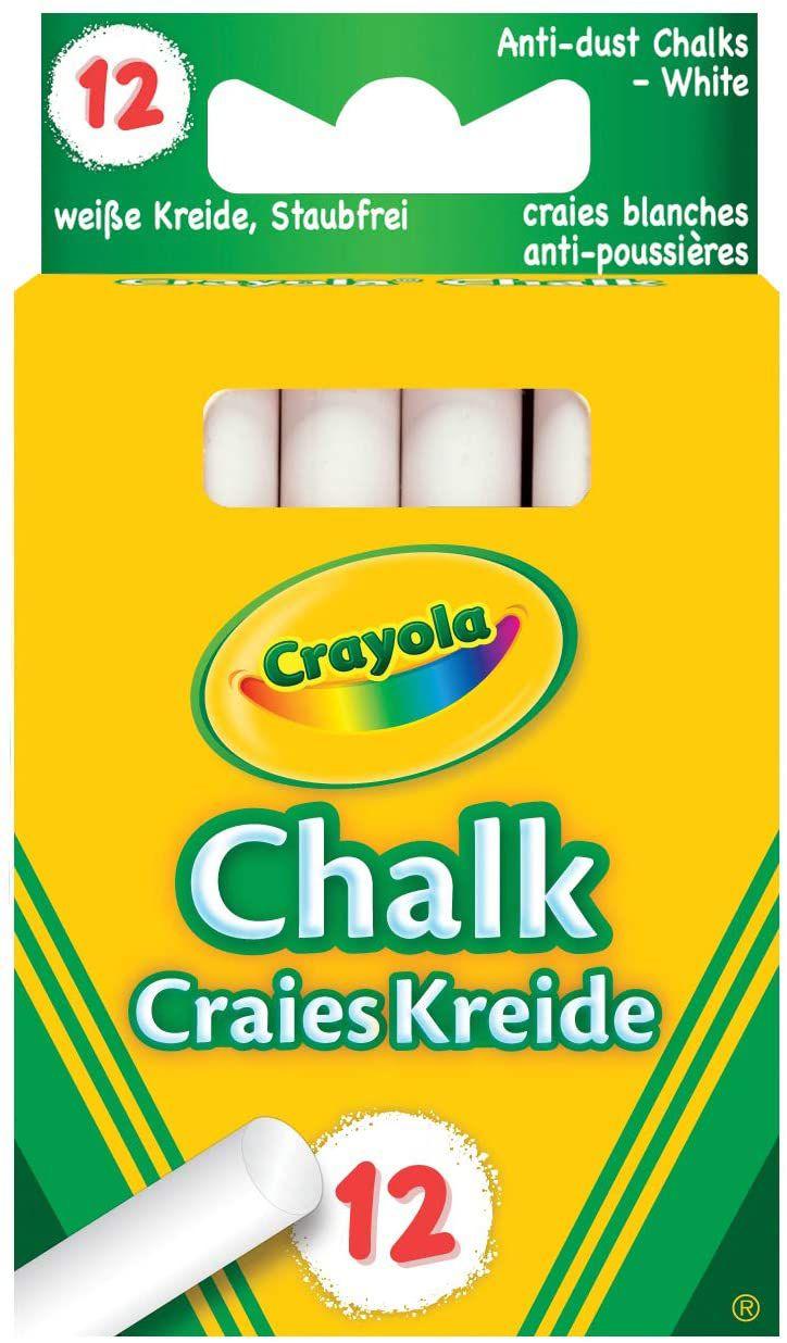 Crayola - Anti Dust 01.0280.10 White Chalk 99p (£4.49 p&p non prime) @ Amazon