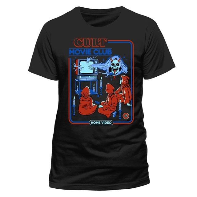 Steven Rhodes: Cult Movie Club T-shirt £3.99 + Free click & Collect at HMV