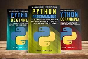 PYTHON PROGRAMMING: 3 BOOKS IN 1: The Complete guide to Learn Everything you Need to Know about Python Kindle Edition FREE at Amazon