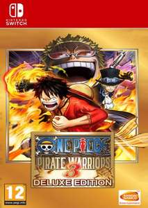 [Nintendo Switch] One Piece Pirate Warriors 3 Deluxe Edition - £8.49 @ CDKeys