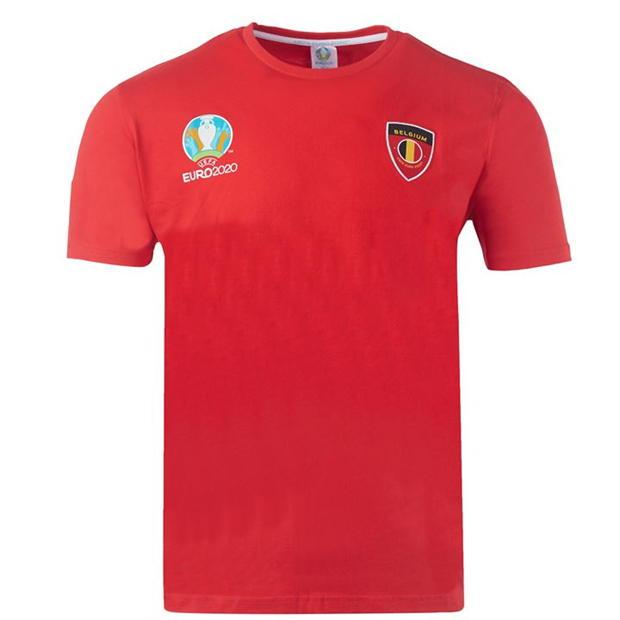 UEFA Belgium T-Shirt Mens - £5 / £9.99 delivered @ Sports Direct