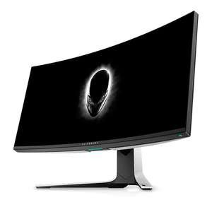 """Alienware AW3420DW 34"""" 3440x1440 Ultrawide Curved Gaming Monitor £708.32 at Dell"""