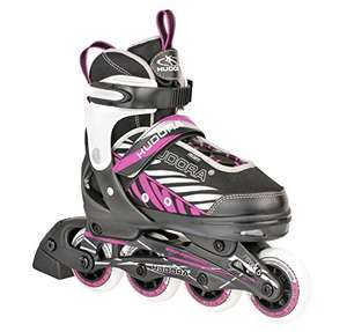 Medium Hudora Children's Kinderinliner Mia Inline Skates - £14.70 (Prime) + £4.49 (non Prime) at Amazon